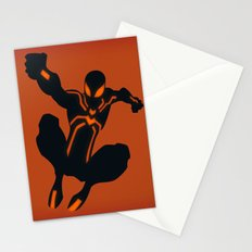 Peter's Stealth Suit (Spiderman) Stationery Cards