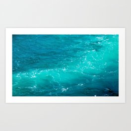 H2Oh, that's cold! Art Print