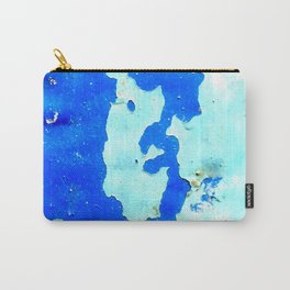 Dystopian Blue Sky Carry-All Pouch