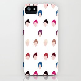 Michael's hair  iPhone Case
