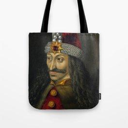 Vlad the Impaler Portrait Tote Bag