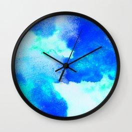 Blue Java Wall Clock