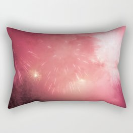 Universe of Fireworks. Rectangular Pillow