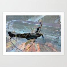Rolls-Royce Merlin Art Print