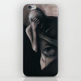 TEARS FROM THE VISCERAL EYE iPhone Skin
