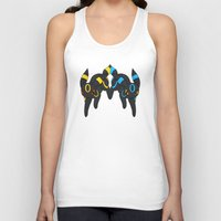 umbreon Tank Tops featuring Umbreon Duo by Kurew Kreations