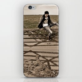 Up and Over iPhone Skin