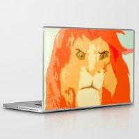 simba Laptop & iPad Skins featuring Simba by Makayla Wilkerson