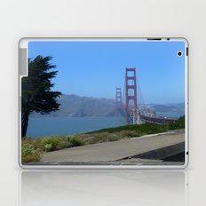 Golden Gate Bridge from the Presidio Laptop & iPad Skin