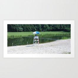 Lifeguard #1 Art Print