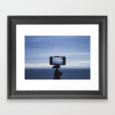 Through the Tiny Lens Framed Art Print