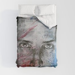 Pretty Noose: Red & Blue: Tribute to Chris Cornell Comforters