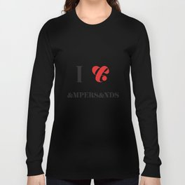 I heart Ampersands Long Sleeve T-shirt