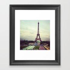 Summer in Paris Framed Art Print