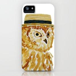 Dapper Owl or Owl Capone? iPhone Case