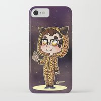 darren criss iPhone & iPod Cases featuring Darren & BB8 by Sunshunes