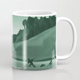 Young Man and the Sea No 4 Coffee Mug