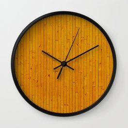 Wooden floor in other way Wall Clock