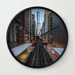 It's Quiet in the Morning Wall Clock