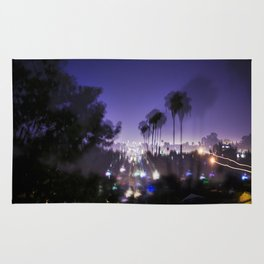 Chasing Light in Los Angeles Rug