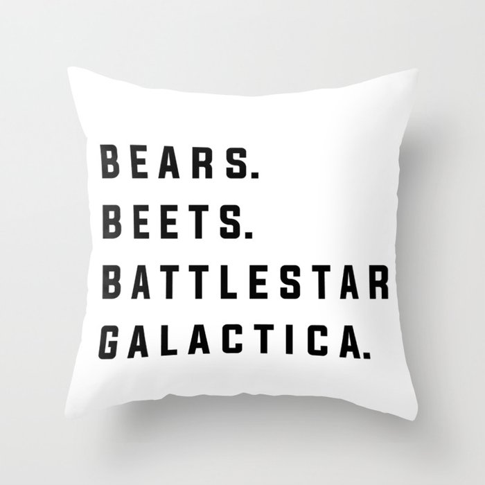 Throw Pillow by Quotable
