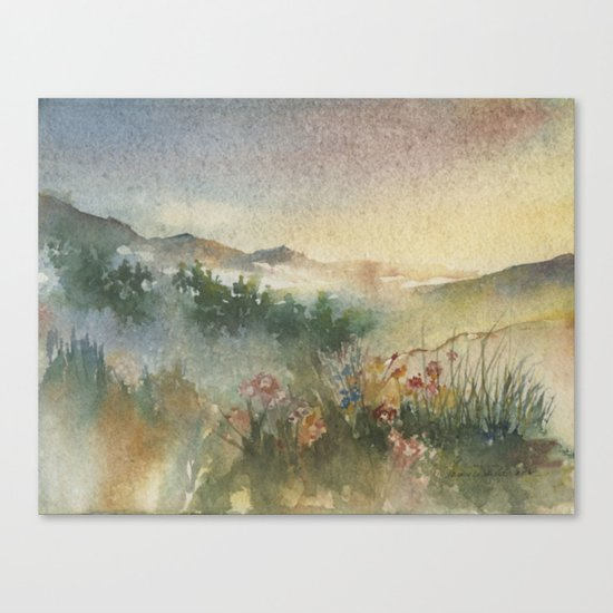 A Foothill Spring Canvas Print