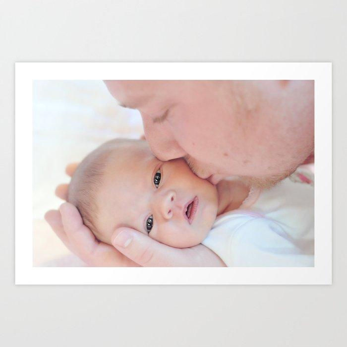 A Father's Love Art Print