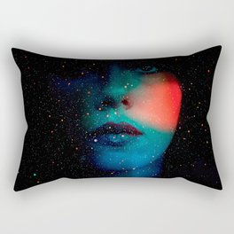 Cosmic Face in the Infinite Universe Rectangular Pillow