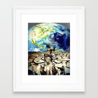 equality Framed Art Prints featuring Equality by Kiki collagist