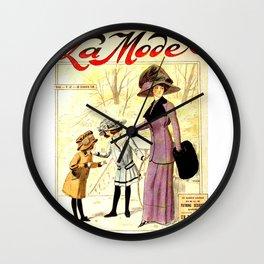La Mode Wall Clock