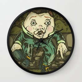 Uneasy Wall Clock