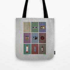 Fringe (colors) Tote Bag