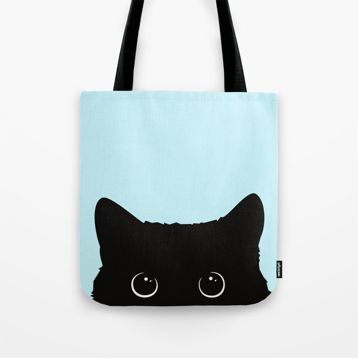 Black cat I Umhängetasche