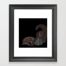 BEAUTY AND THE BEAST Framed Art Print