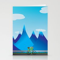 cycle Stationery Cards featuring Cycle by kylecschaeffer