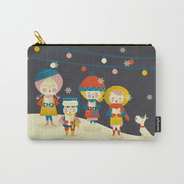 Christmas Carols Singers Carry-All Pouch
