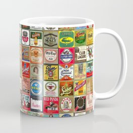 Beer Montage Coffee Mug