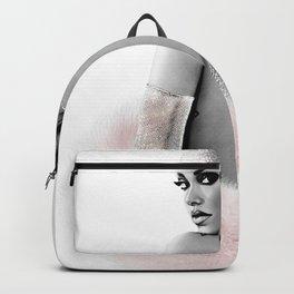 Fashion Illustration - Rihanna Backpack