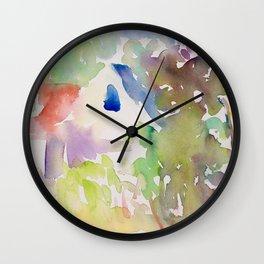 Summer Garden Light Wall Clock