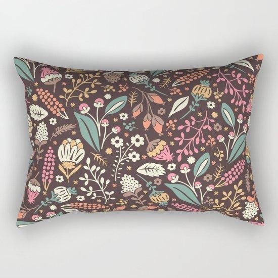Sweet Flowers Rectangular Pillow