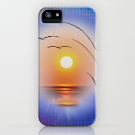 Abstract in perfection - Fertile Imagination Sunst iPhone Case