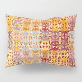 Retro African Textile Warm Tones Pillow Sham