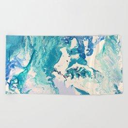Marble Ocean Beach Towel