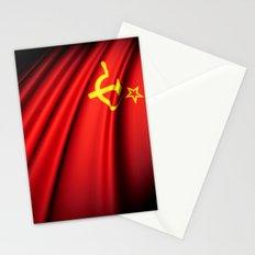 Flag of Soviet Union (1922-1991) Stationery Cards