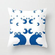 corporate bugs Throw Pillow
