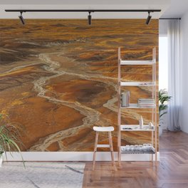 Painted Desert landscape at Petrified Forest National Park Wall Mural