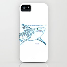 Tiger Shark II iPhone Case