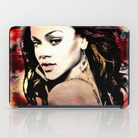 rihanna iPad Cases featuring rihanna by mark ashkenazi