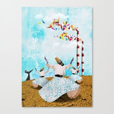 Rituals Of Ecstasy Canvas Print