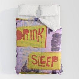 Eat Drink Sleep Think Comforters